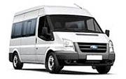 minibus hire knock airport